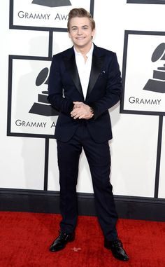 Hunter Hayes from 2014 Grammys: Red Carpet Arrivals