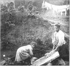 Oficios tradicionales: Lavanderas | Lavaderos públicos