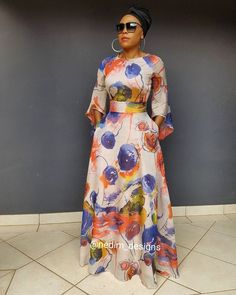 Cute Dresses- Picture Ideas – Ideas for all Dresses & Outfits for All Ocassions African Maxi Dresses, African Attire, African Wear, African Traditional Dresses, Look Fashion, Fashion Design, African Print Fashion, Modest Fashion, Fashion Outfits