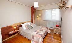 como lograr un dormitorio principal al  estilo rústico.