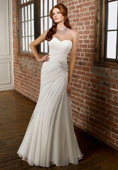 wedding dresses for second wedding   wedding memory » Blog Archive » Very simple wedding dress