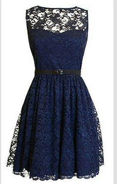 Summer fashion lace dress
