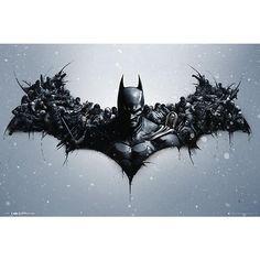 Origins - Arkham Bats - Poster van Batman - Artikelnummer: 284942 - vanaf 5,99 € - Large Popmerchandising