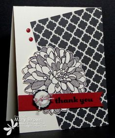 CAS268 Regarding Dahlias by stampercamper - Cards and Paper Crafts at Splitcoaststampers
