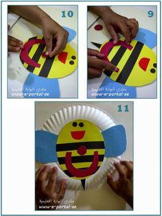 اعمال يدوية لحروف الهجاء   روضة العلم للاطفال