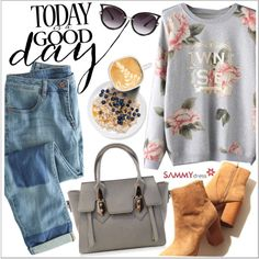 Today is a good day by teoecar on Polyvore featuring Wrap, women's clothing, women's fashion, women, female, woman, misses, juniors and sammydress