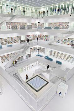 Stuttgart City Library, Stuttgart, Germany