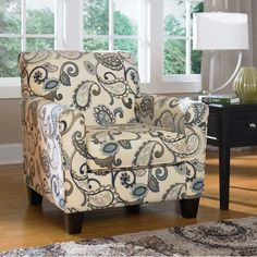 American Furniture Warehouse -- Virtual Store -- Yvette Paisley Accent Chair