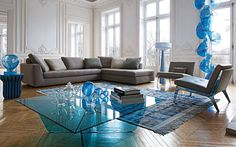 URBAN Sofa for Roche Bobois Collection 2014 by Sacha Lakic Design  Photo credit: Michel Gibert