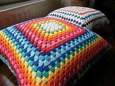 almohadones tejidos al crochet - Buscar con Google