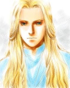 Glorfindel, an elf so badass that he fought and killed a Balrog and came back from the dead.