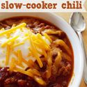 Slow Cooker Chili -- Best slow cooker chili I've made bar none. Added fresh onion when I browned the ground beef. I added a full can oz) of tomato paste (I've noticed that slow cooker stews/chilis are always too runny for me). Added a bit more chili p Best Slow Cooker Chili, Crock Pot Slow Cooker, Slow Cooker Recipes, Cooking Recipes, Cooking Chili, Cooking Kale, Crock Pot Food, It Goes On, Chili Recipes