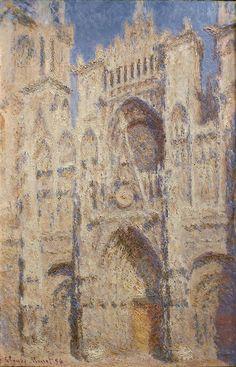 Claude Monet - Serie Catedral de Rouen - XIX