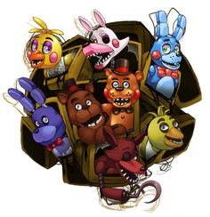 Five Nights at Freddy's 2 by ScittyKitty on DeviantArt