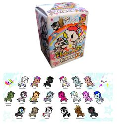 Tokidoki Blind Boxed Unicornos Series 2 Thinkgeek Home