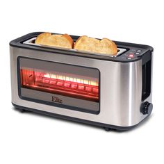 A toaster with a see-through window! Genius!
