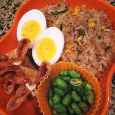 Fried rice lunch box
