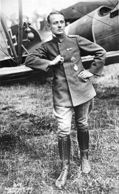 Friedrich Ritter von Roth, German fighter pilot and air ace - pin by Paolo Marzioli