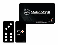 PHILADELPHIA FLYERS OFFICALLY LICENSED DOMINOES SET FROM RICO INDUSTRIES #PhiladelphiaFlyers