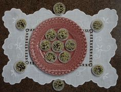 Brigadeiros com Amêndoas / Chocolate Candies with Nuts