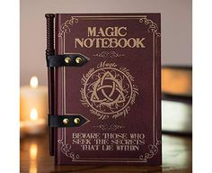 Hardback notebook that looks like a spell book! Available To Buy Now From Prezzybox at Magic Wand Notebook In Stock With Fast, UK Delivery. Fanart Harry Potter, Harry Potter Kostüm, Fans D'harry Potter, Harry Potter Jewelry, Hogwarts, Slytherin, Harry Potter Memorabilia, Cadeau Harry Potter, Magic Magic Magic