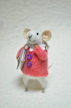 Image result for diy felt mice
