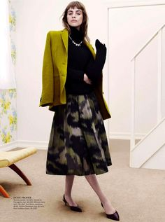 Julia Frauche by Benny Horne for Vogue Australia September 2013