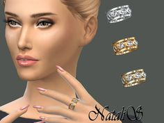 The Sims Resource: NataliS_Cage and crystals ring • Sims 4 Downloads