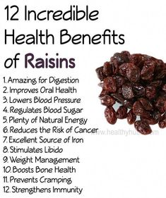 12 Incredible Health Benefits of Raisins! - - 12 Incredible Health Benefits of Raisins! 12 Incredible Health Benefits of Raisins! Bone Health, Oral Health, Health Tips, Health And Wellness, Lemon Benefits, Coconut Health Benefits, Fruit Benefits, Natural Energy, Natural Cures