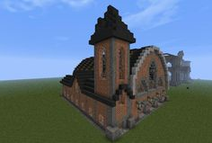 Image result for minecraft small train station