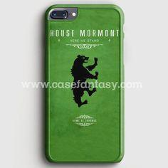Game Of Thrones - House Mormont iPhone 7 Plus Case | casefantasy