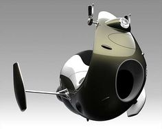 Jet Scooter.   Perfect for avoiding the traffic