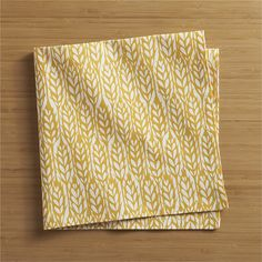 HarvestNapkin. Perfect with wheat-ear muffins!