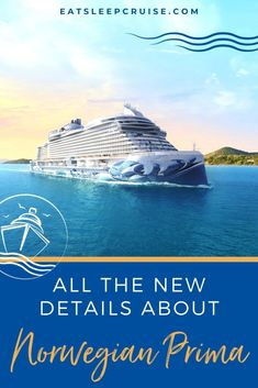 Everything We Know About Norwegian Prima So Far - In this exclusive first look, we share everything we know about Norwegian Cruise Line's newest ship Norwegian Prima so far. Cruise Checklist, Cruise Tips, Transatlantic Cruise, Cruise Ship Reviews, Msc Cruises, Outdoor Spa, Norwegian Cruise Line, Celebrity Cruises, Royal Caribbean Cruise