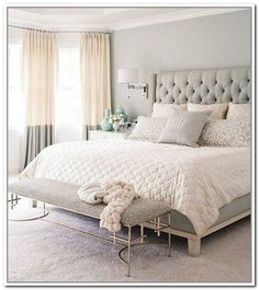 Love the Headboard and Color Scheme