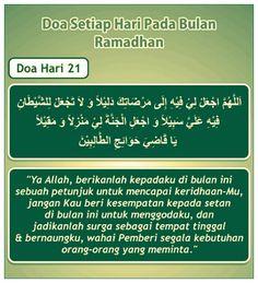 Doa hari 21 Ramadhan Dua For Ramadan, Adha Mubarak, Self Reminder, Deen, Quran, Allah, Religion, Projects, Log Projects