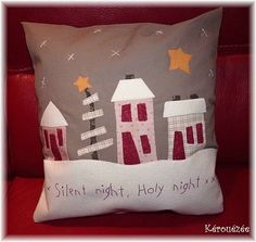 English French Pillow