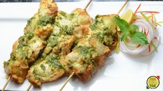 pesto chicken kabab isa very rich in taste pesto (basil) is equal to indian tulsi in flavour .this combination is very good so marinating the chicken fillet ...