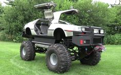 Watch This Man Turn a DeLorean Into a Monster Truck, a Limo, and a Hovercraft - Popular Mechanics