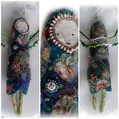 doll pins, great fiber artist