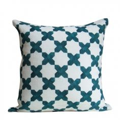 Emerald Green E'toile throw pillow by Christen Maxwell, at Cabana Home Santa Barabra