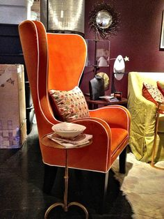This is why we love wing chairs.