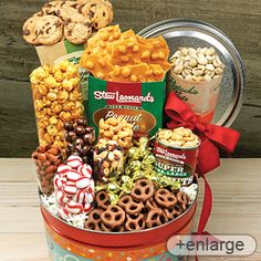 The idea for the Stew Leonard's 'Crowd Pleasing Sampler' came from our loyal customers who wanted a tasting of their favorite snacks. They loved it and we know you'll love it too! Perfect for the office staff, housewarmings, students or any hungry group.