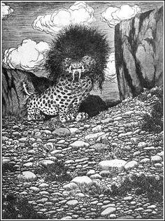 Sidney Sime - The Prapsnot (1923)