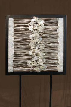 Wie gewebt ergeben die trockenen Werkstoffe ein kunstvolles Gesamtbild