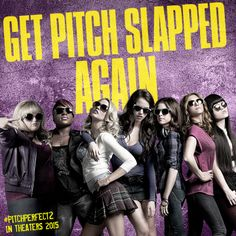 Are you ready to get pitch slapped again? #PitchPerfect2, in theaters May 15, 2015.