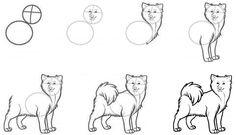 Как нарисовать собаку? | Рисуем собаку муму, таксу, чихуахуа карандашом поэтапно