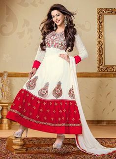 Amna Sharif in Dynamic Party Wear Anarkalis