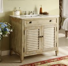 25 Rustic Bathroom Vanities To Make Your Bathroom Look Gorgeous | Parents  Place | Pinterest | Wood Vanity, Rustic Wood And Vanities