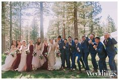 Featured Graeagle Real Wedding from the Summer/Fall 2018 issue of Real Weddings Magazine with photos by Sweet Marie Photography. Rustic Flowers, Wild Flowers, Boho Wedding, Wedding Flowers, Bridesmaid Dresses, Wedding Dresses, Autumn Summer, Sacramento, Fall 2018